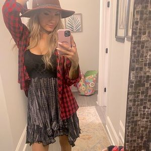 FALL flannel and hat